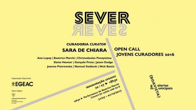 Sever. Open Call Jovens Curadores 2016