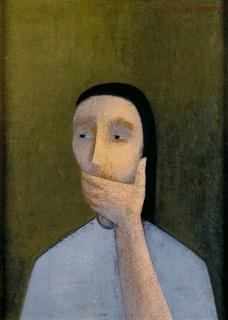 Juana Francés | Silencio, 1953. Colección Candela Álvarez Soldevilla. Cortesía del IVAM