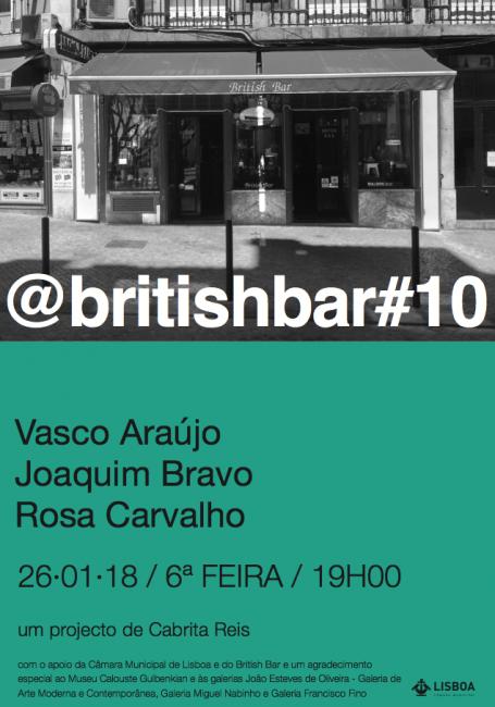 @BRITISHBAR #10. Imagen cortesía Galería Miguel Nabinho