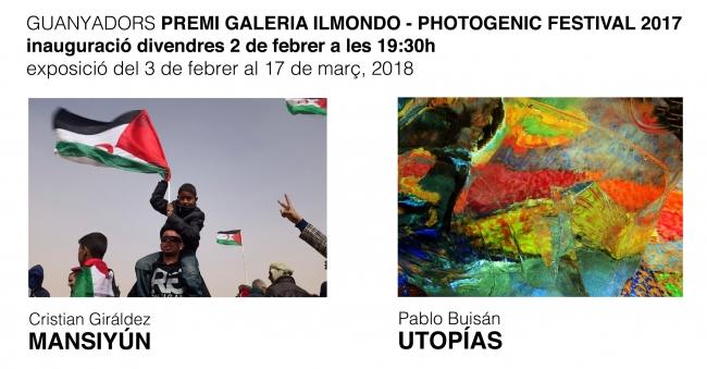 Guanyadors del premi Galeria Ilmondo - Photogenic Festival 201