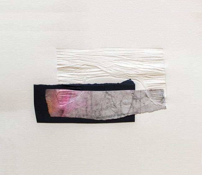 S/T. Gofrado/Collage. 30.5 x 28.5 cm. / Soledad Estomba