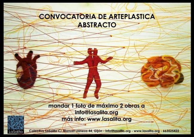 Convocatoria arte abstracto