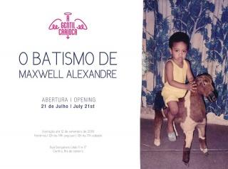 O Batismo de Maxwell Alexandre
