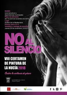 VIII Certamen de Pintura No al Silencio La Nucía 2018