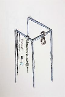 Tamara Arroyo, Boceto. 2019 — Cortesía de la Galería Nordés