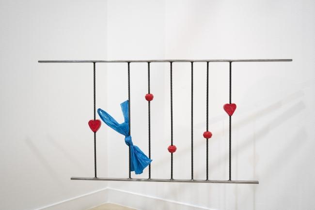 La obra de Tamara Arroyo, Caramelos Fiesta (2018) ganadora del Premio Nebrija de Adquisición a la Creación Artística — Cortesía de la Universidad Nebrija