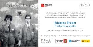Eduardo Gruber. O salón dos espellos