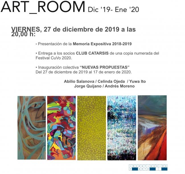 Exposición Colectiva Nuevas Propuestas 2020