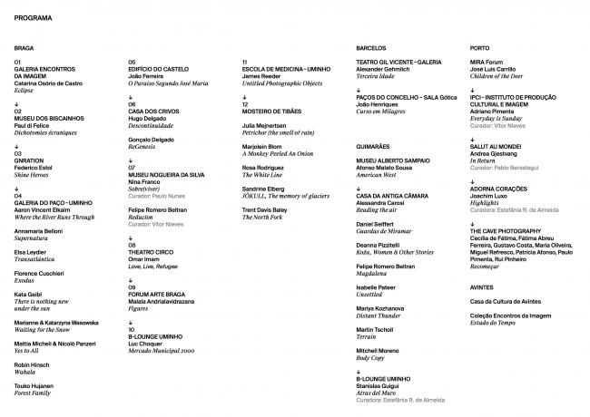 30º Encontros da Imagem - Festival Internacional de Fotografia e Artes Visuais