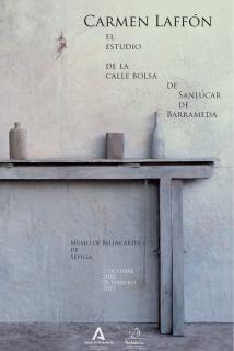 Carmen Laffón. El estudio de la calle Bolsa de Sanlúcar de Barrameda