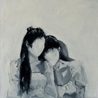 Wladymir Bernechea, Comienzo del Invierno, 2020, Óleo sobre tela, 40 x 40 cm