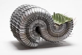 Carlos León Zambrano, Serie XIV: PHTBP (Primitive High Tech Bioprosthesis), 2020 — Cortesía de Kunsthaus Hamburg