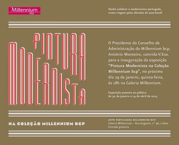 Pintura Modernista na Colecção Millennium bcp