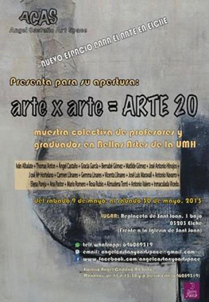 Arte x Arte = 20