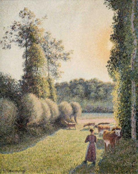 Camille Pissarro - La gardeuse de vaches