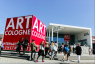 Impressions of the ART COLOGNE 2015, South entrance © Koelnmesse