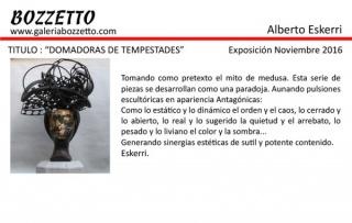 Alberto Eskerri, Domadoras de tempestades