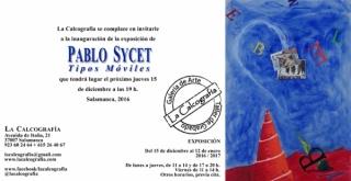 Pablo Sycet, Tipos móviles