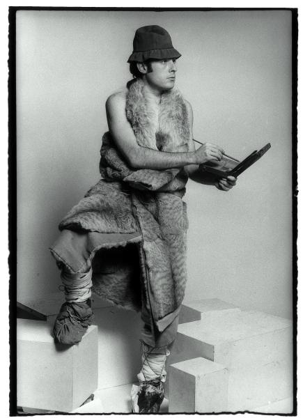 Paul Nahon, Eduardo Arroyo, 1965-66 © Paul Nahon. Colección Eduardo Arroyo