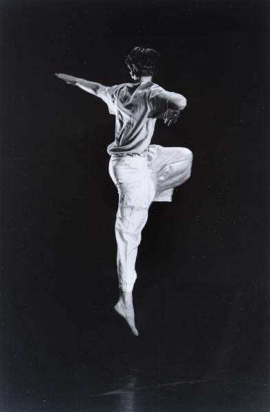 Jean-Pierre Maurain, Ballet, c. 1990. © Jean-Pierre Maurain. Colección Eduardo Arroyo