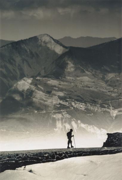 Dan Berilloux, Petites Roches desde el lago de Crozet © Dan Berilloux. Colección Eduardo Arroyo