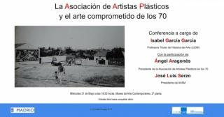 La Asociación de Artistas Plásticos y el arte comprometido de los 70