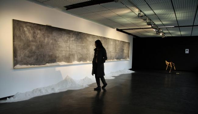 Cinthia Marcelle. Sobre este mismo mundo, 2009. Sprovieri Gallery, Londres, y Galeria Vermelho, São Paulo. Cortesía Museo Thyssen