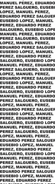 EUSEBIO LÓPEZ , MANUEL PÉREZ Y EDUARDO PÉREZ SALGUERO