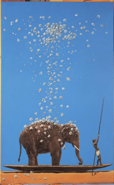 Más allá de la aurora y el Ganges. Pedro Ruiz Lluvia, 2009