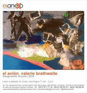 El Avión. Imagen cortesía El Anexo / Arte Contemporáneo