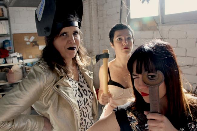 Imatge del grup de música Pentina't Lula — Cortesía de Lo Pati – Centre d'Art Terres de l'Ebre