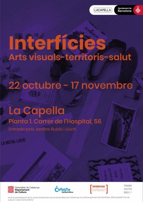 Interfícies. Arts visuals-territoris-salut