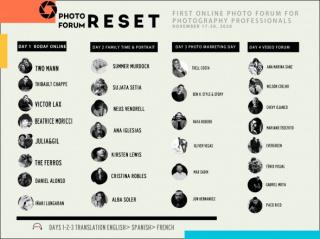Photo Forum Reset