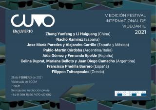 CUVO ENcuvIERTO - V Festival Internacional de Videoarte 2021
