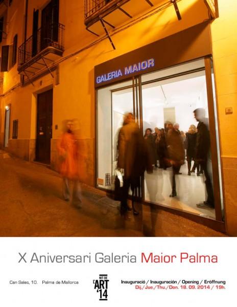 X Aniversari Galeria Maior Palma