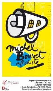 Michel Bouvet, affichiste