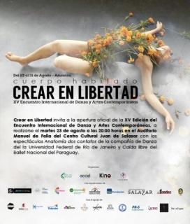 XV Edición del Encuentro Internacional de Danza y Artes Contemporáneas Crear en Libertad