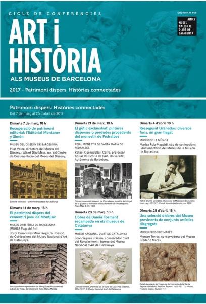 Art i història als museus de Barcelona. Patrimoni dispers. Històries connectades