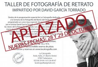 Cartel taller fotografía retrato