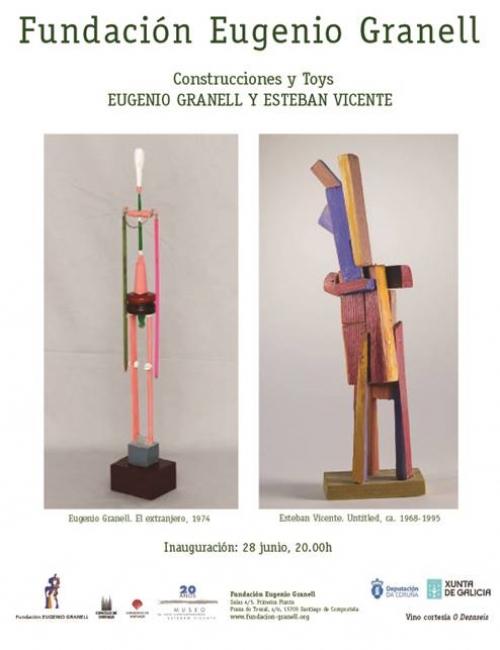 Construcciones y Toys. Eugenio Granell y Esteban Vicente