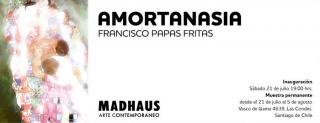 Amortanasia. Imagen cortesía Galería Madhaus