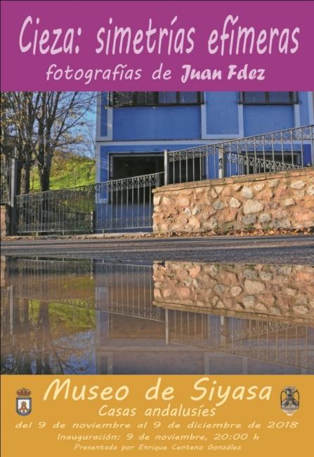 Juan Fdez. Cieza: Simetrías efimeras