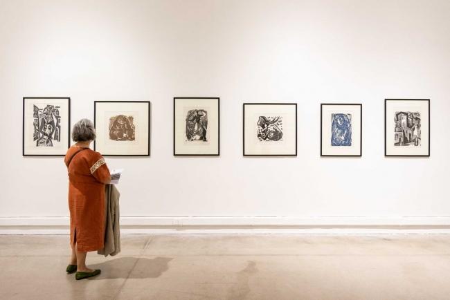 Colección MAC:9 xilógrafos argentinos. Imagen cortesía Prensa MAC