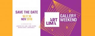 Art Lima Gallery Weekend 2018