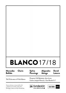 Exposición retrospectiva «BLANCO 17/18»