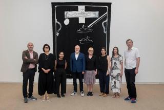 El jurado — Cortesía de la Fundació Antoni Tàpies