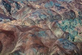 Montañas de cobre