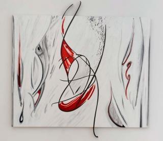 Antoni Amat, Origin Collection, mixta y óleo sobre tela, 148x185 cms,