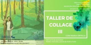 III edición taller de collage. El papel integrado en la pintura
