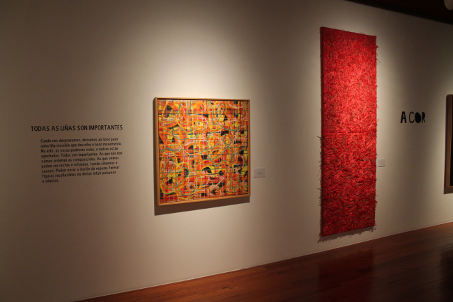 Con D de arte. Unha ollada infantil á Colección de Arte Afundación máis contemporánea — Cortesía de Afundación